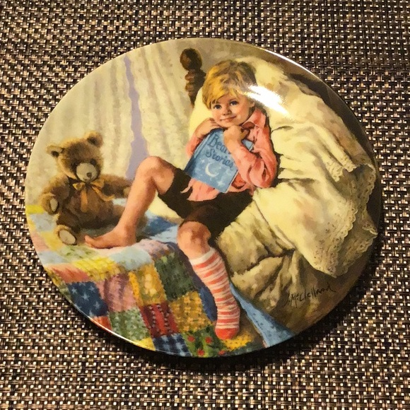 Reco collectors plate Diddle Diddle Dumpling 1984